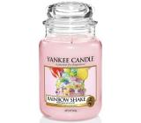 Yankee Candle Rainbow Shake - Dúhový koktail vonná sviečka Classic veľká sklo 625 g Easter 2019