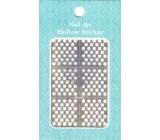 Nail Accessory Hollow Sticker šablónky na nechty multifarebné kolieska 1 aršík 129