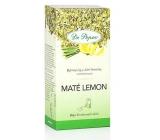 Dr. Popov Maté lemon bylinný čaj z Južnej Ameriky, aromatizovaný 30 g, 20 nálevových sáčkov á 1,5 g