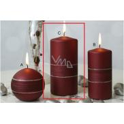 Lima Sparkling sviečka vínová valec 70 x 150 mm