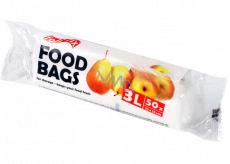 Folifix Food Bags Mikroténové sáčky biele 3 litre, 25 x 35 cm 50 kusov