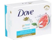 Dove Go Fresh Restore Modrý fík a pomerančový květ toaletný mýdlo 100 g