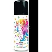 Anjel zmývateľné farebný lak na vlasy čierny 125 ml