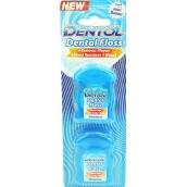 Dentol Dental Floss Cool Mint dentálna voskovaná niť 2 x 50 metrov