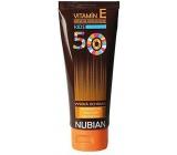 Nubian F50 vitamín E opalovací voděodolný krém pro děti 100 g tuba