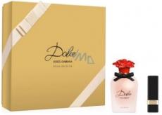 Dolce & Gabbana Dolce Rosa Excelsa parfémovaná voda pro ženy 50 ml + Dolce Flirt rtěnka, dárková sada