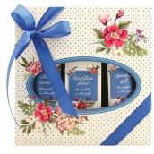 Bohemia Gifts & Cosmetics Meadow Spa koupelová lázeň 250 ml + sprchový gel 200 ml + vlasový šampon 200 ml, kosmetická sada