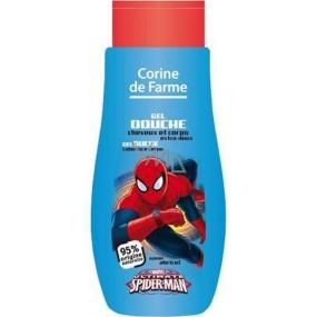 Corine de Farmu Marvel Spiderman 2v1 šampón na vlasy a sprchový gél pre deti 250 ml