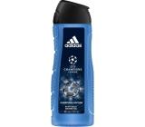 Adidas UEFA Champions League Champions Edition 2v1 sprchový gel a šampon pro muže 400 ml
