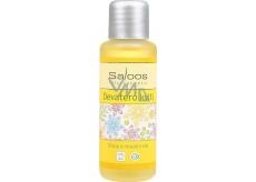 Saloos Deväť kvetov telový a masážny olej úľava svalom, opuchom boľavým chrbtu 50 ml