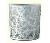 Albi Vianočný sklenený svietnik - ihličie 7 cm