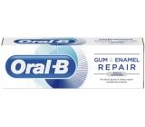 Oral-B Gum & Enamel Repair Gentle Whitening zubná pasta pre citlivé zuby, vlastnosti: s bieliacim účinkom, ochrana ďasien, ochrana skloviny a ochrana pred zubným kazom 75 ml