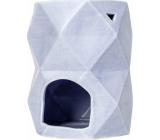 Heart & Home Aromalampa Trojuholníky veľká fialová 12,5 cm