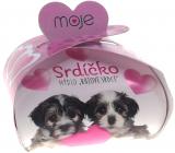 NeoCos Srdiečko ružové darčekovej mydlo v krabičke 35 g