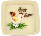 Adpal Stearín Keramika vonná sviečka Happy Easter 105 x 35 mm