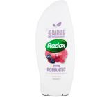 Radox Romantic s vôňou čučoriedok a orchideí krémový sprchový gél 250 ml