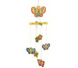 Puzzle drevené hojdacie 01 Motýle na zavesenie 20 x 15 cm