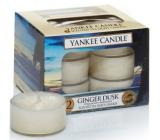 Yankee Candle Ginger Dusk - Zázvorový soumrak vonná čajová svíčka 12 x 9,8 g