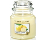 YANKEE SVIEČKA vonná Sicilian Lemon Classic strednej 9101