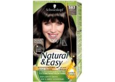Schwarzkopf Natural & Easy farba na vlasy 583 Ľadový tmavohnedý