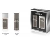 David Beckham Beyond parfumovaný deodorant sklo pre mužov 75 ml + dezodorant sprej 150 ml, kozmetická sada