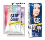 Marion Star Color smývatelná barva na vlasy Jeans - Modré jeans 2 x 35 ml