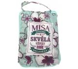 Albi Skladacia taška na zips do kabelky s menom Míša 42 x 41 x 11 cm
