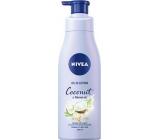 Nivea Coconut & Monoi Oil telové mlieko s olejom dávkovač 200 ml