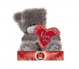 Me to You Medvedík Srdce vianočné 14 cm
