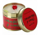 Bomb Cosmetics Brusnica a limetka - Cranberry and Lime Vonná prírodné, ručne vyrobená sviečka v plechovej dóze horí až 35 hodín