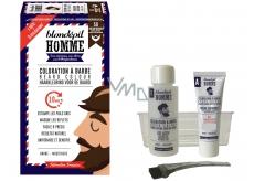 Blondépil Homme Coloration A Barbe barva na vousy a vlasy č. 50 Přírodní kaštanová