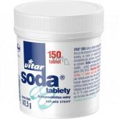 Vitar Sóda tablety proti páleniu záhy, tlaku žalúdka a pri pocite plnosti 150 kusov