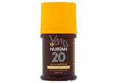 Nubian OF20 Vodeodolný olej na opaľovanie 60 ml