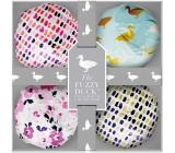 Fuzzy Duck Cotswold Floral 4 Bath Fizzers Set