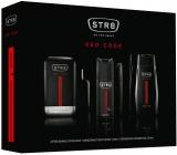 Str8 Red Code voda po holení pre mužov 50 ml + dezodorant sprej 150 ml + sprchový gél 250 ml, kozmetická sada