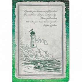 Ditipo Denník Antique maják A5 15 x 21 cm