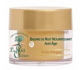 Le Petit Olivier Arganový olej Anti-Age regeneračný nočný balzam 50 ml