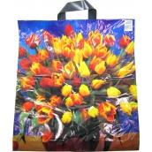 Press Igelitová taška Tulipány 47 x 43 cm 1 kus