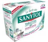 SANYTOL 4v1 tablety do umývačky riadu 40 kusov