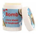 Bomb Cosmetics Kokosový polibek - Coco Kisses Balzám na rty 9 ml