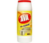 Ava Na riadu čistiaci prášok na čistenie bežného kuchynského riadu 400 g