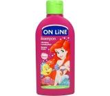 On Line Kids Ariel Malina 2v1 sprchový gel a šampon na vlasy pro děti 250 ml