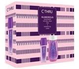 C-Thru Glamorous parfémovaný deodorant sklo pro ženy 75 ml + sprchový gel 250 ml, kosmetická sada