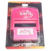 Albi Razítko se jménem Sára 6,5 cm × 5,3 cm × 2,5 cm