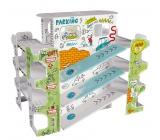 Monu Parkovisko Skladačka k vymaľovanie pre deti 5+ výška: 49 cm