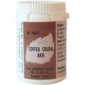 AKH Coffea Crude homeopatický doplnok stravy pomáha k sústredeniu, proti bolesti, búšenie srdca 60 tabliet