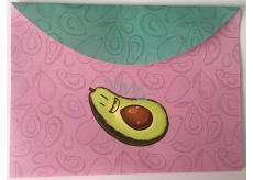 Albi Puzdro na dokumenty ružové Avokádo B6 176 x 125 mm