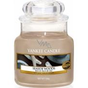 Yankee Candle Seaside Woods - Přímořské dřeva vonná svíčka Classic malá sklo 104 g