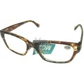 Berkeley Čítacie dioprtické okuliare +3,0 plast Tigrova žíhané 1 kus ER4198