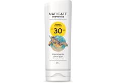 Nafigate Cosmetics Organic Sunscreen SPF30 opaľovací emulzia s prírodným UV filtrom 200 ml